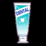 一般的な歯磨き粉のイラスト