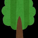 シンプルな木のイラスト2